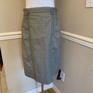 Nanette Lepore Check Pencil Skirt, lined 8